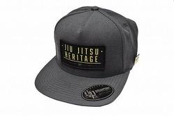 Jiu Jitsu Heritage Snapback Hat  Dark Gray 1