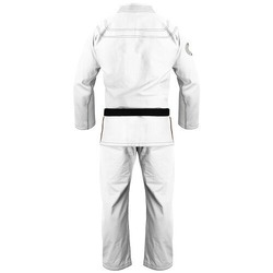 Immortal Warrior Jiu Jitsu Gi white2