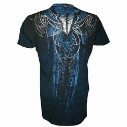 Throwdown Soul Collector T-Shirt BK Blue2
