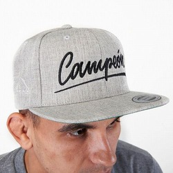 snapback cap CAMPEON melange1