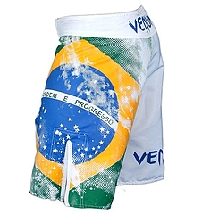 VENUM ファイトショーツ Brazilian Flag 白