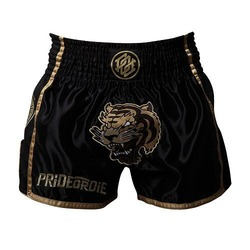 Short Muay Thai UNLEASHED Black 2