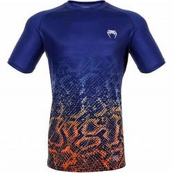Tropical Tshirt Dry Tech Blueorange 1