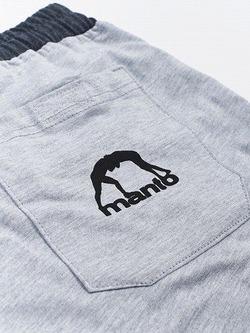 MANTO cotton shorts COMBO LIGHT melange 4