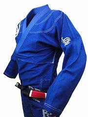 RE FIGHT 柔術衣 トライバル 青