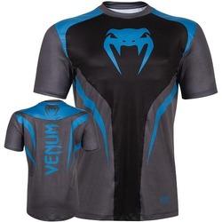 T-shirt Dry Tech Predator bleu 1