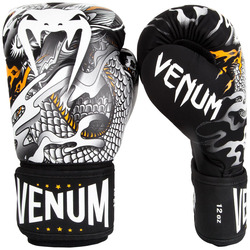 Dragons Flight Boxing Gloves blackwhite 1