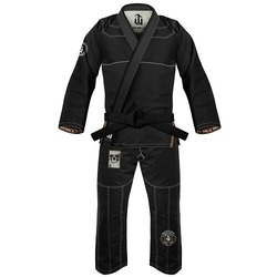 Immortal Warrior Jiu Jitsu Gi black1