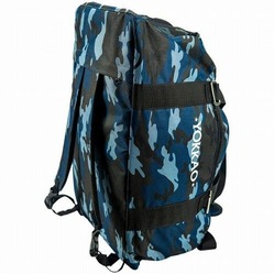 Convertible Blue Camo Gym Bag 4