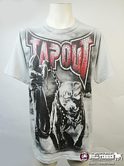 TAPOUT Tシャツ Pit Bull グレー