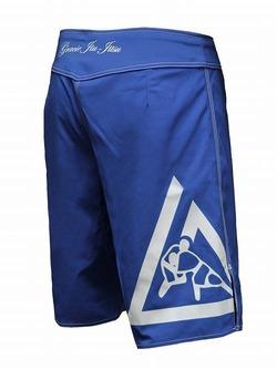 Royal Blue Faght Shorts 2