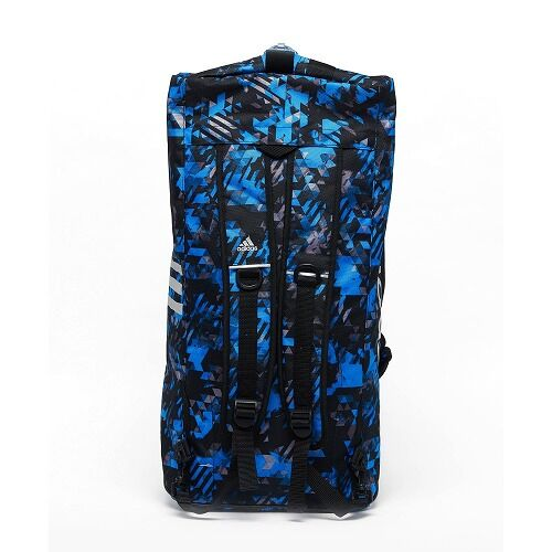 13adiACC058 - 2IN1 BAG - BLUE Camo - SIDE