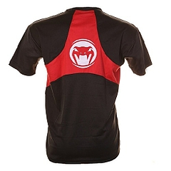 Jam Dry Fit Tee Black Red 2