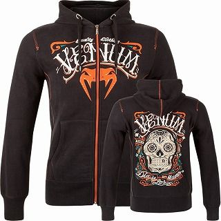 Sweat shirt Santa Muerte Black 1