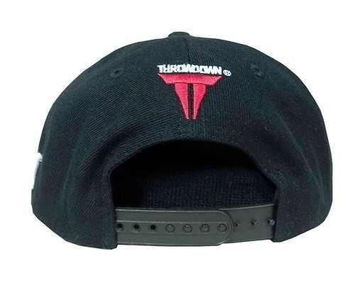 Throwdown Standard Snapback Hat BK2