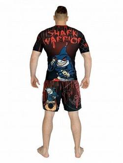 Shark Warrior Rashguard 3