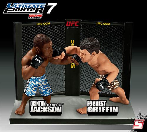 """UFCフィギュア クイントン""""ランペイジ""""ジャクソンVSフォレスト・グリフィン"""