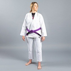 Standard Issue BJJ Gi Female Cut White1