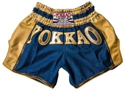 YOKKAO Denim Carbon Shorts GOLD Edition 1