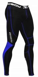 Compression Leggings Black-Blue 1