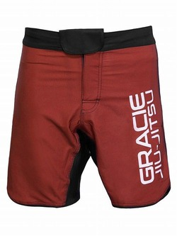 ultralight fight shorts red 1