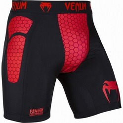 Absolute Compression Shorts - Black Red 1