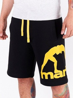 MANTO cotton shorts COMBO black 1