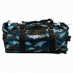 Convertible Blue Camo Gym Bag 1
