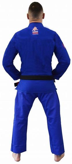 Ultra Light Kimono blue 2