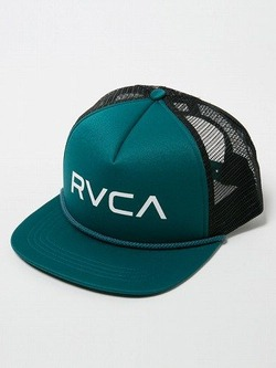 AH041904  RVCA FOAMY TRUCKER TEA 1