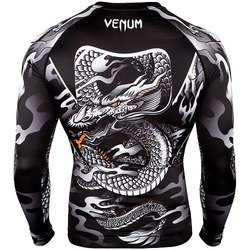 Dragons Flight Rashguard LS blackwhite 4