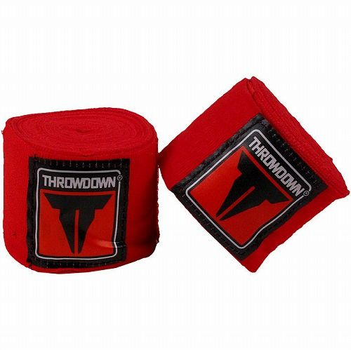 Throwdown MMA Mexican Style Handwraps Red