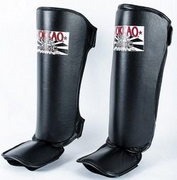 YOKKAO Black BASIC Shin Guards 2