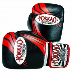 YOKKAO Terminator Black Muay Thai Boxing Gloves 1