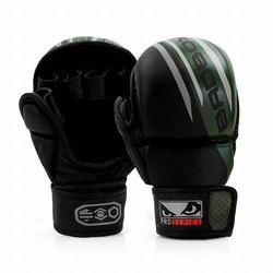 Pro Series Advanced MMA Safety Gloves blackgreen1