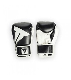 Youth Hybrid Stand-Up Gloves Black White