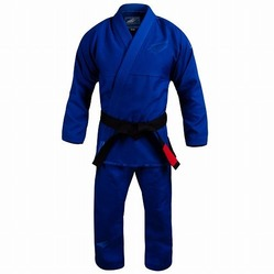 Stealth Pearl Weave Jiu Jitsu Gi blue 1a
