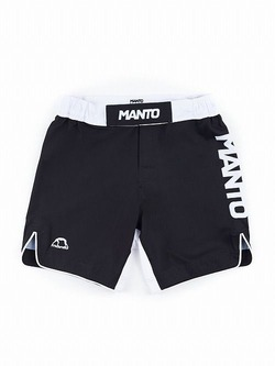 MANTO fight shorts STRIPE black1