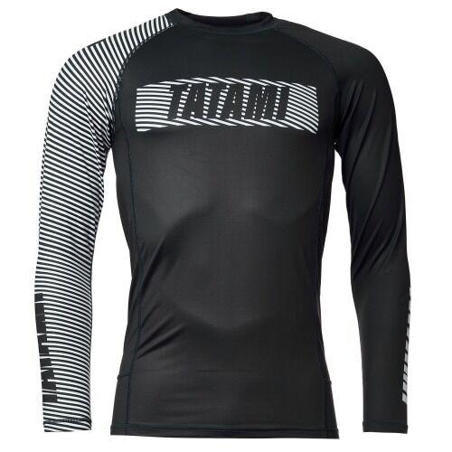 Tatami_Essentials2_Rashguard_BlackWhite