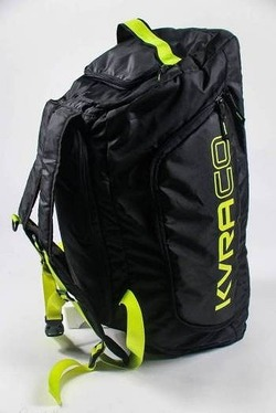 Mochila Multi Bag black neogreen 2