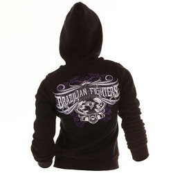 Hoody For Women Brazilian Fighters BK1