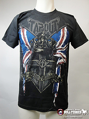 TAPOUT Tシャツ マイケル・ビスピン UFC127 黒