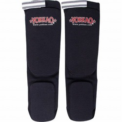 Muay Thai Boxing Shin Guards Black Cotton1