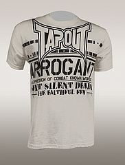 TAPOUT Tシャツ Division 白