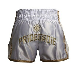 Short Muay Thai UNLEASHED White 3