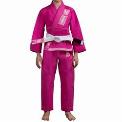 Gold Weave Youth Jiu Jitsu Gi pink 1
