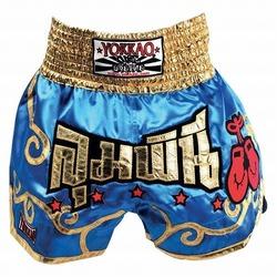 Muay Thai Stars Light Blue Short1