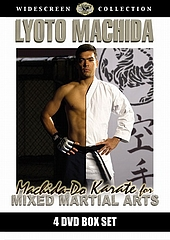 DVD リョート・マチダ MACHIDA-DO KARATE for MMA 4枚組