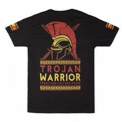 Trojan Warrior T-shirt charcoal2