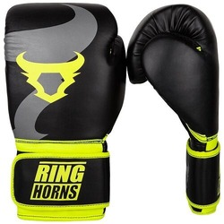 Ringhorns Charger Boxing Gloves Black Neo Yellow1